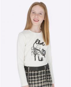 Детска блуза за момиче Mayoral Chic с дълъг ръкав