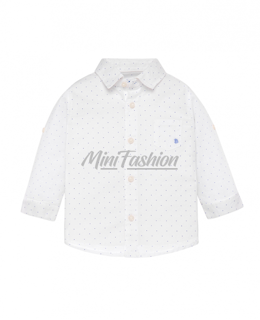 Бебешка ленена риза Mayoral за момче 0117 029