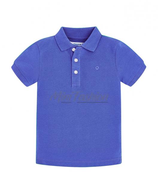 Детска тениска Mayoral с яка за момче 0150 013