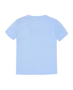 Детска памучна тениска Mayoral с надпис за момче 0170 011