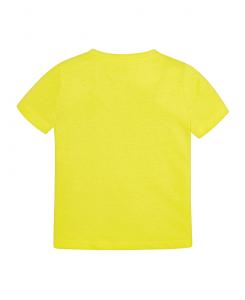 Детска памучна тениска Mayoral с надпис за момче 0170 013