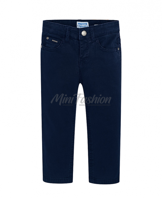 Детски едноцветен панталон Mayoral за момче 0509 092