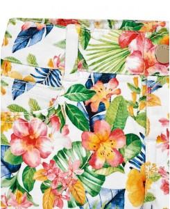 Бебешки къси панталонки Mayoral на цветя за момиче 1228 006