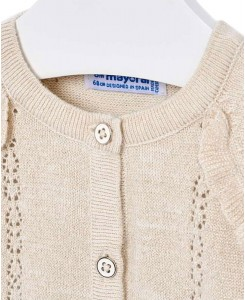 Бебешка тънка жилетка Mayoral за момиче 1309 065