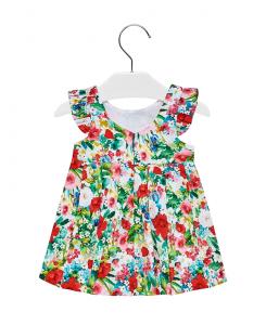 Бебешка рокля Mayoral на цветя 1910 049