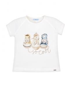 Детска тениска Mayoral с кецове за момиче 3004 082