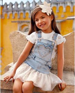 Детска тениска Mayoral на точки за момиче 3012 070