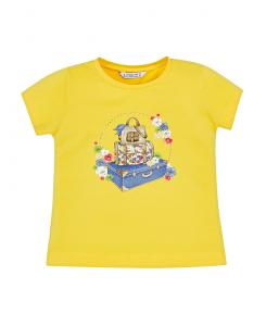 Детска тениска Mayoral с щампа за момиче 3015 062