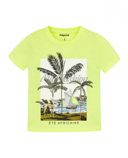 Детска тениска Mayoral с щампа за момче 3025 084