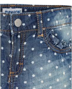 Къси дънкови гащи Mayoral за момиче 3204 005
