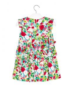 Детска рокля Mayoral на цветя 3931 010