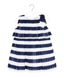 Детска плисирана рокля Mayoral на райе 3944 065