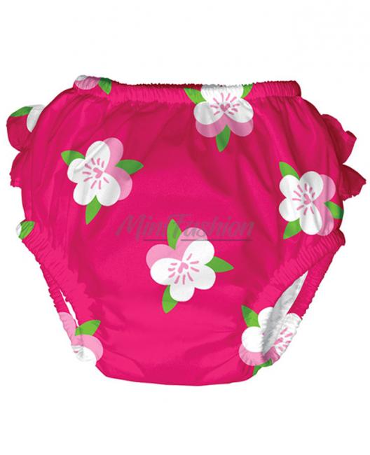 Бебешки бански iPlay долнище Fuchsia Pansy